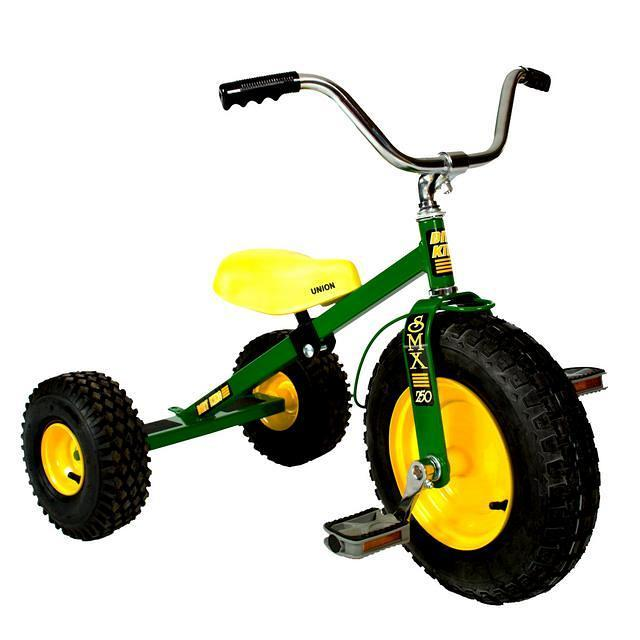 Green Childrens Tricycle.