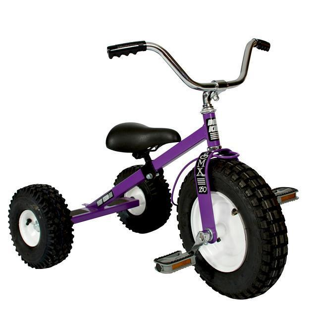 Purple Childrens Tricycle.